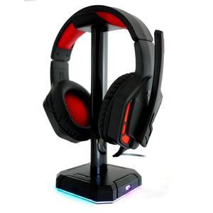 Redragon H220 Themis + Support Scepter Pro (HA300) Koptelefoon Gaming met Microfoon - Zwart/Rood