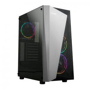 Luneco Tower R7 Ryzen 7 3,6 GHz - SSD 240 GB + HDD 2 TB - 16 GB - NVIDIA GeForce GT 1030