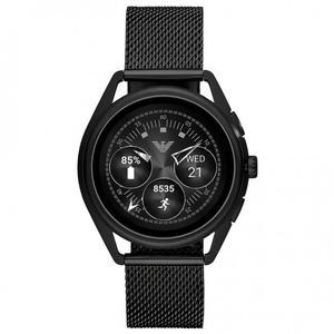 Kellot Cardio GPS Emporio Armani Smartwatch 3 ART5019 - Musta