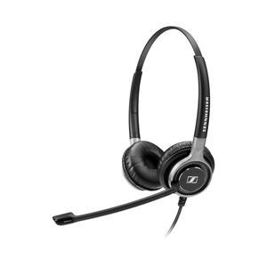 Kopfhörer mit Mikrophon Sennheiser SC 662 - Schwarz