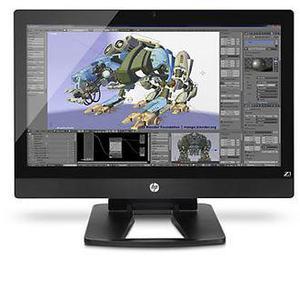 """HP Z1 Workstations 27"""" Xeon E3 3,3 GHz - SSD 256 Go - 16 Go AZERTY"""