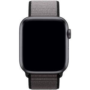 Apple Watch (Series 5) Septembre 2019 44 mm - Aluminium Gris sidéral - Bracelet Sport Gris