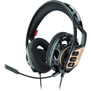 RIG 300 Jogos Auscultador- com microfone - Preto/Dourado