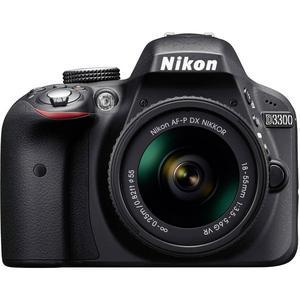 Reflex - Nikon D3300 Noir Nikon AF-P DX Nikkor 18-55mm f/3.5-5.6G VR
