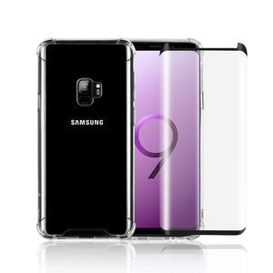 Hülle und 2 Schutzfolie Galaxy S9 - Recycelter Kunststoff - Transparent