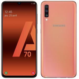 Galaxy A70 128GB Dual Sim - Koralli - Lukitsematon