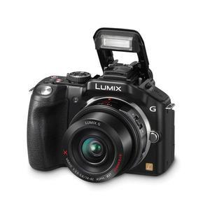 Híbrida Cámara Panasonic Lumix DMC-G5 - Negro + Objetivo Lumix G Vario 14-42mm f/3.5-5.6 + Lumix G Vario 45-200mm f/4.0-5.6