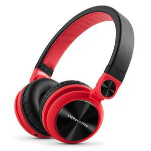 Kopfhörer mit Mikrophon Energy Sistem DJ2 - Rot/Schwarz