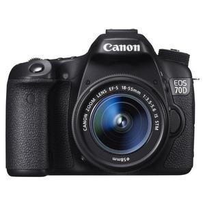 Reflex - Canon EOS 70D Noir Canon EF-S 18-55mm f/3.5-5.6 IS STM