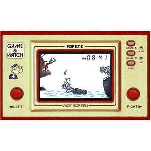Nintendo Game & Watch Popeye - HDD 0 MB - Braun