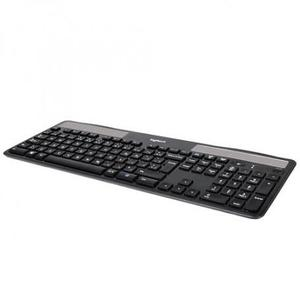 Logitech Solar Wireless Keyboard K750 - Nero - QWERTZ Svizzera