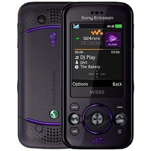 Sony Ericsson W395 - Violett/Schwarz- Ohne Vertrag