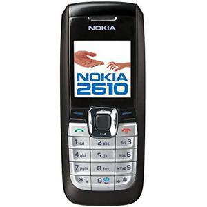 Nokia 2610 - Black - Unlocked