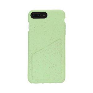Funda iPhone 6 Plus/6S Plus/7 Plus/8 Plus - Biodegradable - Verde menta