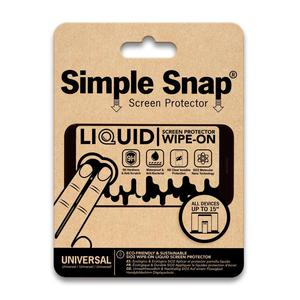 """Ecouteurs Simple Snap Screen protector - All Device Screens up to 15"""""""
