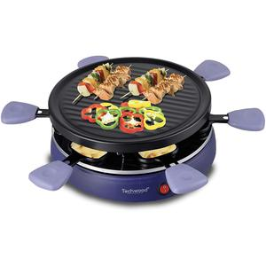 Raclette grill 6 personnes Techwood TRA-63