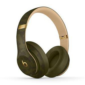 Beats By Dr. Dre Studio 3 Camo Collection Noise-Cancelling Bluetooth Headphones with microphone - Black