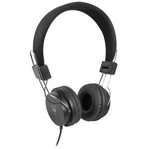 Cascos Micrófono Ewent EW3573 - Negro