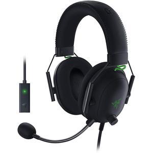 Kopfhörer Rauschunterdrückung Gaming mit Mikrophon Razer BlackShark V2 X - Schwarz/Grün