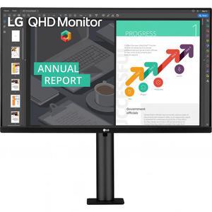 """Écran 27"""" LED QHD LG 27QN880-A"""