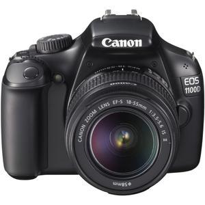 Reflex Canon EOS 1100D - Noir + Objectif Canon EF-S 18-55mm f/3.5-5.6 IS II