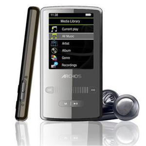 MP3-player & MP4 8GB Archos 2 Vision - Schwarz/Grau