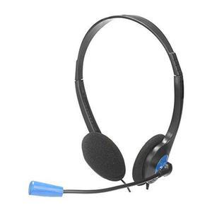 Kopfhörer mit Mikrophon Denver Electronics NGS MS-103 - Schwarz