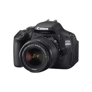Reflex - Canon EOS 600D Schwarz Objektiv Canon EF-S 18-55mm f/3.5-5.6 IS II