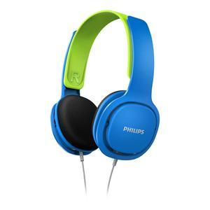 Casque Réducteur de Bruit Philips SHK2000BL - Bleu/Vert