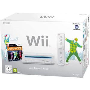Console Nintendo Wii + Manette + Just Dance 2 - Blanc