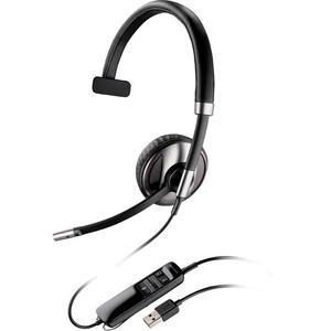 Kopfhörer Bluetooth mit Mikrophon Plantronics Blackwire C710-M - Schwarz