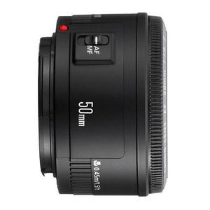 Lente Canon EF 50mm f1.8 II - Preto