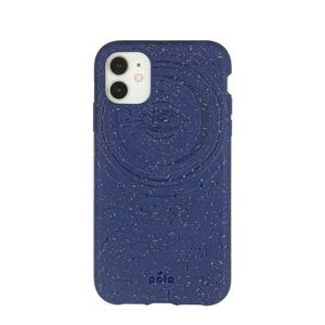 Hülle Pela Cosmic Blue (Retrograde Edition) Eco-Friendly iPhone 11 Pro