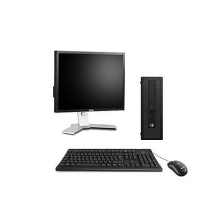 """Hp ProDesk 600 G1 SFF 19"""" Core i3 3,4 GHz - HDD 500 Go - 4 Go AZERTY"""