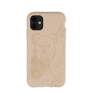 Coque écoresponsable, 100% biodégradable pour iPhone 11 - Coquillage