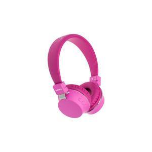 Denver Electronics BTH-205 Kuulokkeet Bluetooth Mikrofonilla - Vaaleanpunainen (pinkki)