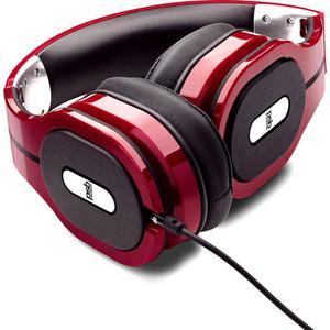 Psb M4U1 Kuulokkeet Mikrofonilla - Punainen/Musta