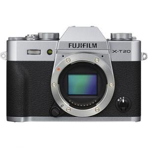 Hybrid Fujifilm X-T20 - Silber/Schwarz + Objectiv Fujifilm Fujinon XC 15-45mm f/3.5-5.6 IOS PZ