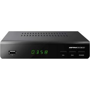Décodeur Diprogress DVB-T2 Hevc H265 - Noir