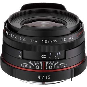 Objectif Pentax-DA 1:4 15mm ED AL Limited