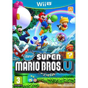 New Super Mario Bros U - Nintendo Wii U