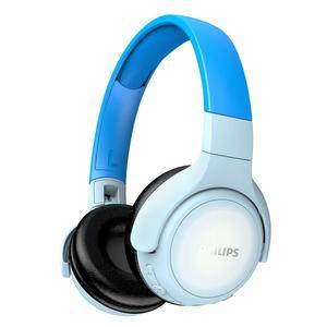 Casque Réducteur de Bruit Bluetooth avec Micro Philips KH402BL/00 - Bleu/Blanc