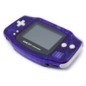 Nintendo Game Boy Advance Edition Limitée - Bleu foncé Transparent