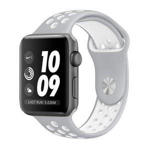 Apple Watch (Series 3) September 2017 38 mm - Aluminium Spacegrijs - Armband Nike sport armband