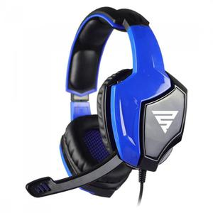 Twodots Tornado 2.0 Binaural Noise-Cancelling Gaming Headphones with microphone - Blue/Black