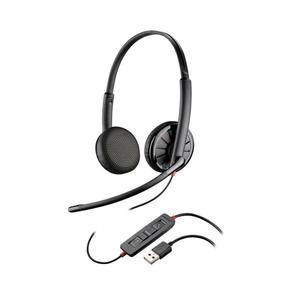 Blackwire 300 DA Hoofdtelefoon - Microfoon Zwart