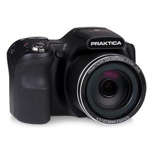 Cámara bridge Praktica Luxmedia Z35 - Negro + lente Praktica Prakticar Optical Zoom 25-875 mm f/3-5.9