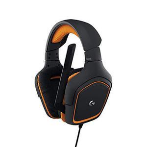 Casque Gaming avec Micro Logitech G231 Prodigy - Noir/Orange