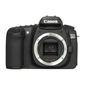 Yksisilmäinen Peiliheijastuskamera Canon EOS 30D Musta + Objektiivi Canon EF 80-200 mm f/4.5-5.6