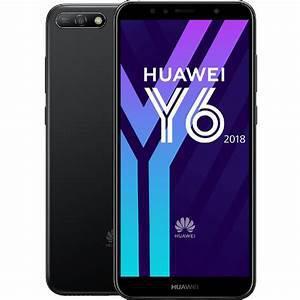 Huawei Y6 (2018) 16 Go Dual Sim - Noir - Débloqué